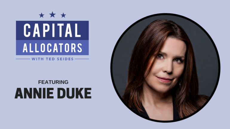 Annie Duke – Improving Decision Making (EP.39)