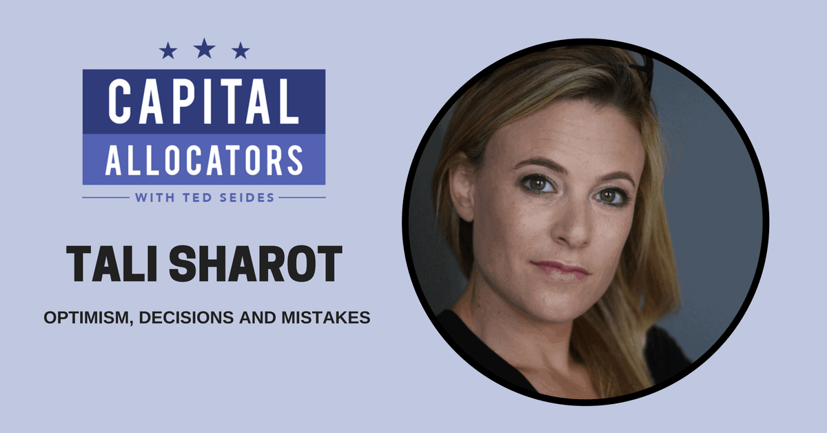 Tali Sharot – Optimism, Decisions and Mistakes (EP.55)