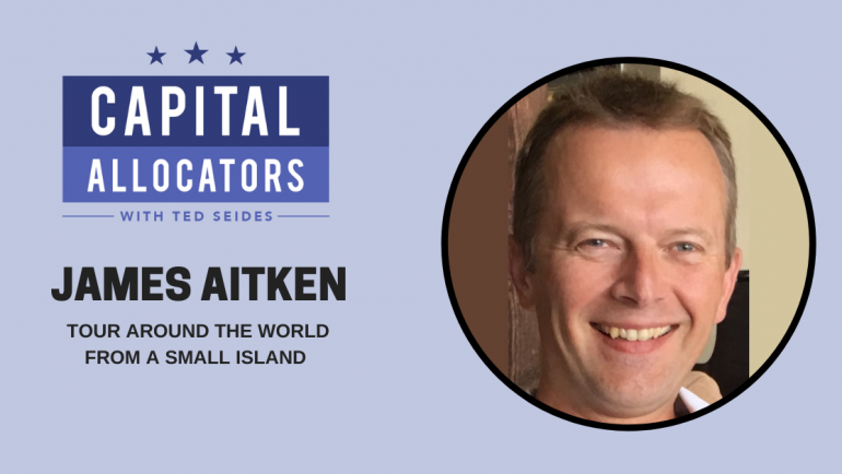 James Aitken – Tour Around the World from a Small Island (EP.122)