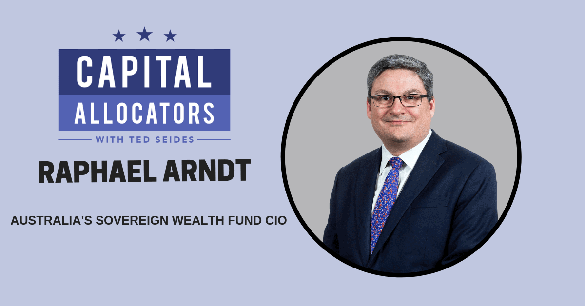 Raphael Arndt – Australia's Sovereign Wealth Fund CIO (EP.70)