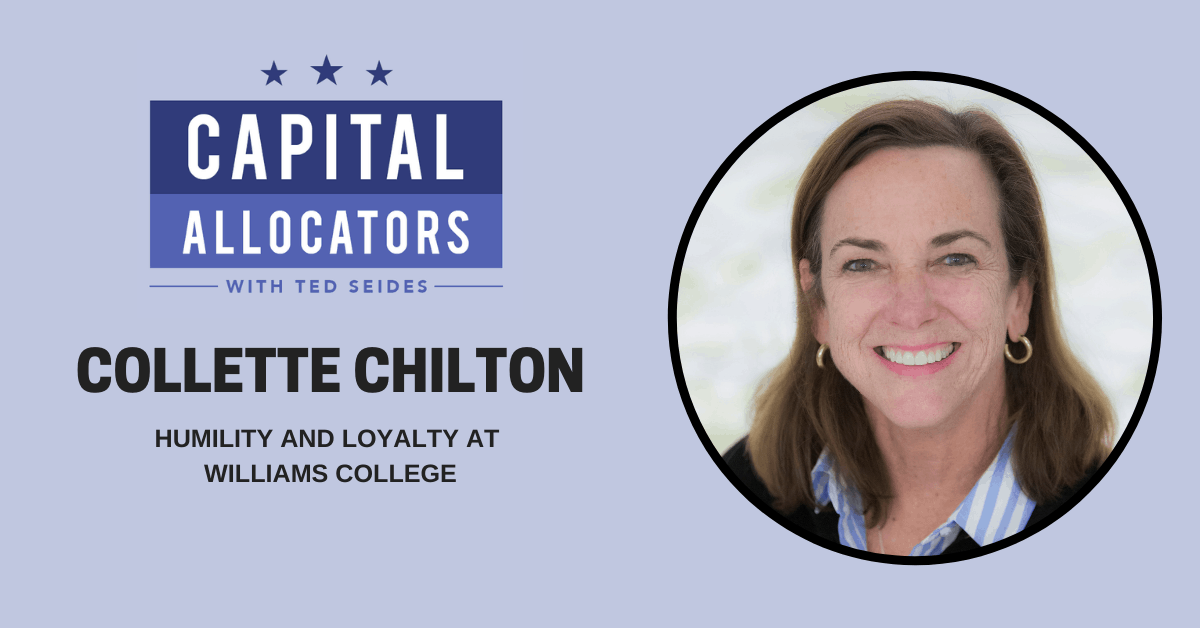 Collette Chilton – Humility and Loyalty at Williams College (EP.174)