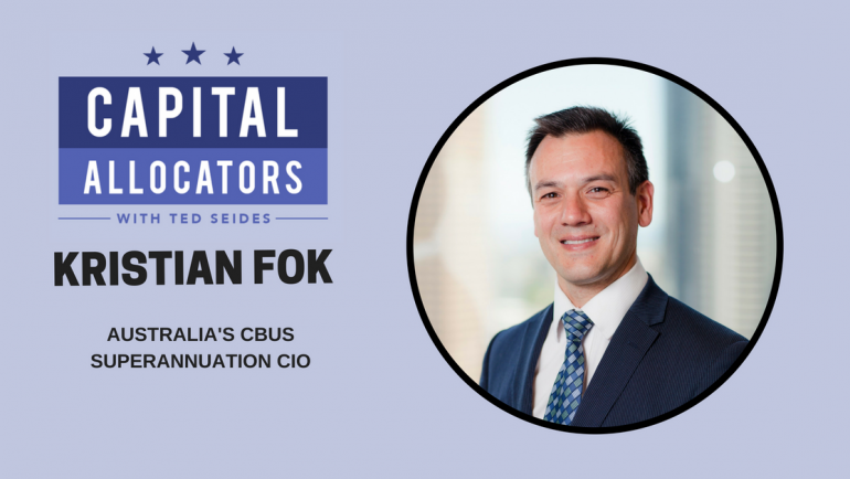 Kristian Fok – Australia's CBUS Superannuation CIO (EP.66)