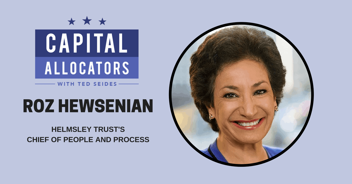 Roz Hewsenian – Helmsley Trust's Chief of People and Process (EP.63)