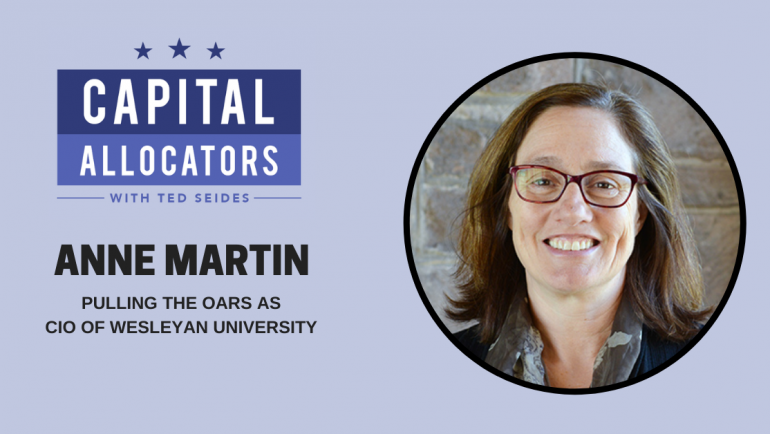 Anne Martin – Pulling the Oars as CIO of Wesleyan University (EP.114)