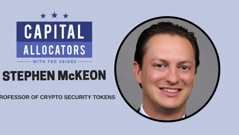 Stephen McKeon – Professor of Crypto Security Tokens (EP.69)