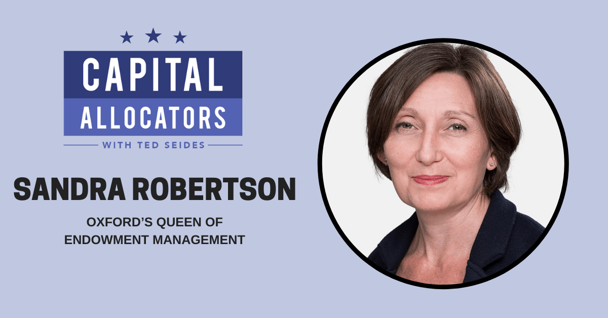Sandra Robertson – Oxford's Queen of Endowment Management (EP.130)