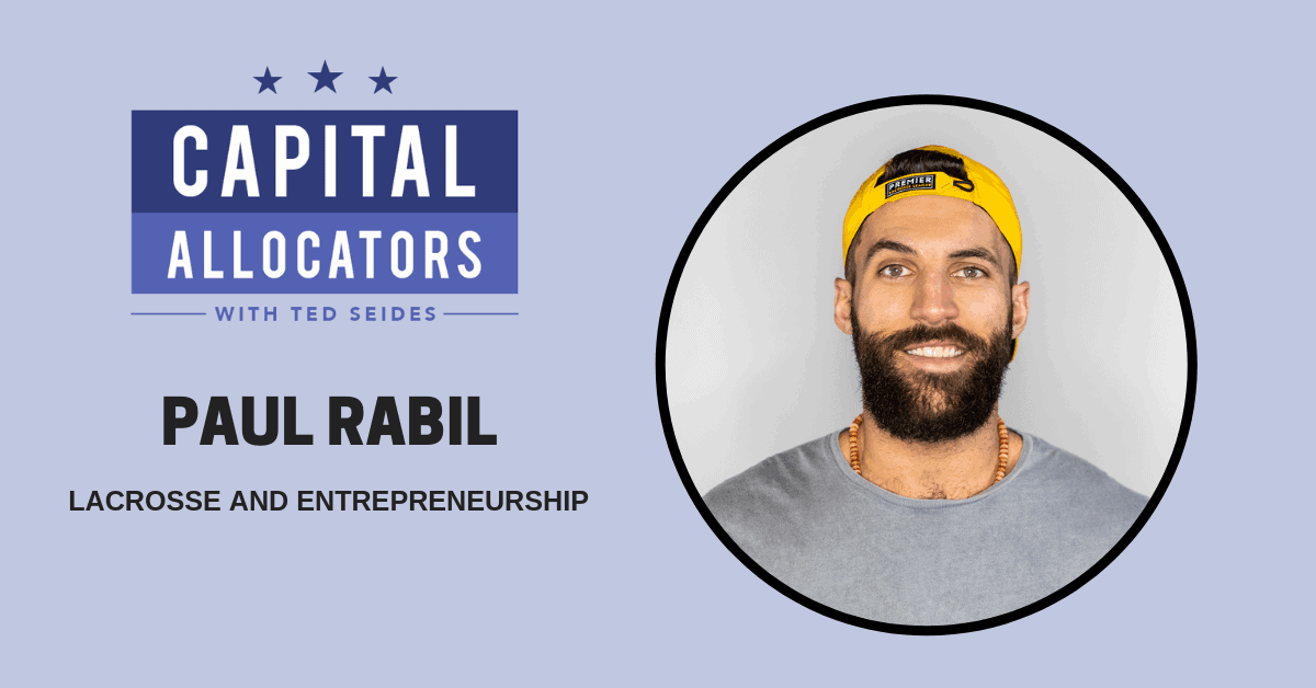 Paul Rabil – Lacrosse and Entrepreneurship (EP.95)