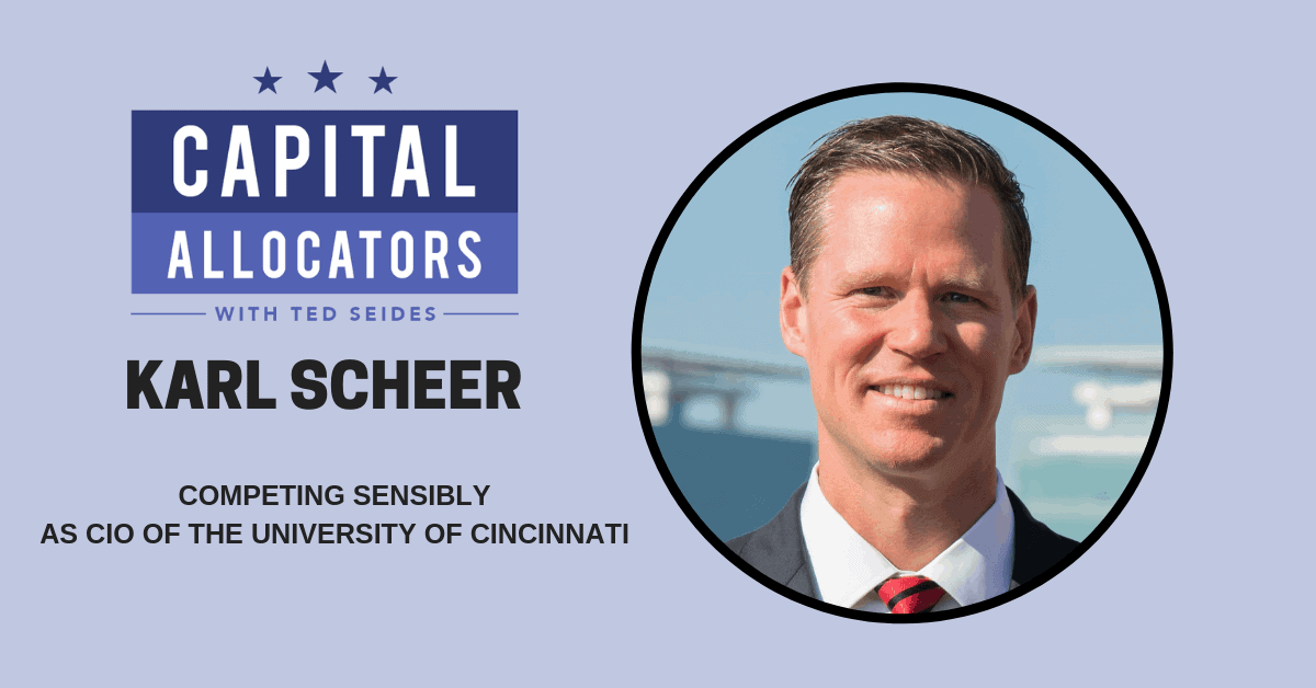 Karl Scheer – Competing Sensibly as CIO of the University of Cincinnati (EP.74)