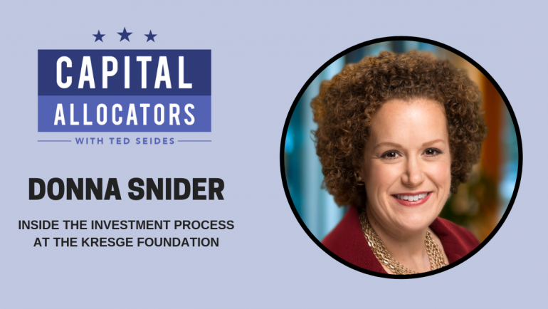 Donna Snider – Inside the Investment Process at the Kresge Foundation (EP.84)
